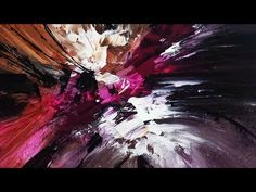 Abstract Painting DEMO 37 / Abstract art / Palette knife / painting techniques - YouTube