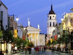 The homeland of my grandparents is definitely on my bucket list (Vilnius, Lithuania)