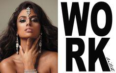 Indian Beauty/Makeup/Lips Jennifer Dickinson Photography hair marion groot mu carly flint www.ma-luxe.com