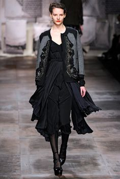 Antonio Marras Fall 2011 Ready-to-Wear Fashion Show - Sara Blomqvist