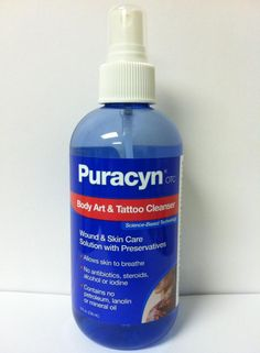 New Puracyn Body Art and Tattoo cleanser from Innovacyn.com- releases in Walgreens Sept 1st