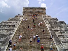 Chichen Itza mexico- did this and cried all the way down! I think I was sacrificed in a past life.