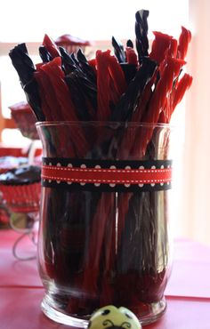 licorice - red & black, I love both equally