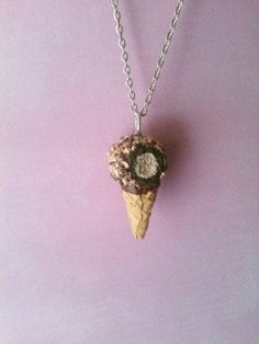 Hey, I found this really awesome Etsy listing at https://www.etsy.com/listing/225988843/classic-vanilla-drumstick-necklace