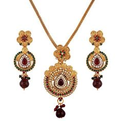 Red & Green Stone Bollywood Designer Gold Plated Ethnic P... https://www.amazon.com/dp/B06XGCPPRL/ref=cm_sw_r_pi_dp_x_bqYazbD84GQ44