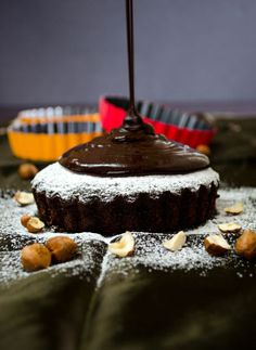 Easy Double Chocolate Cake | Giverecipe.com | #cake#chocolate#dessert