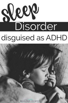"""of children diagnoses with ADHD had been misdiagnosed when they actually had a treatable sleep disorder."""" Our own son's sleep disorder was being disguised as ADHD (or even called a """"behavior problem."""") before we found out that he had Central Sleep Ap Ways To Sleep, How To Sleep Faster, How To Get Sleep, Sleep Well, Sleep Better, Kids Sleep, Good Night Sleep, Child Sleep, Toddler Sleep"""