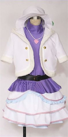 Vicwin-One Love Live Tojo Nozomi Uniform Cosplay Costume >>> Continue to the product at the image link.