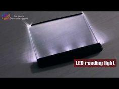 Панель для чтения книг ночью - YouTube