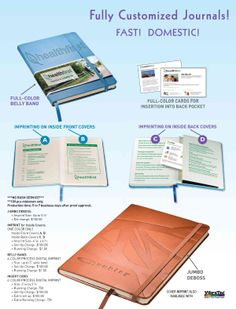Fully Customized Journals And Address Books At Great Prices Promotional Items Custom Printed Gift Ideas For Business Promotion Www Abetteridea