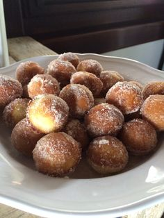 Yummy breakfast brown sugar cinnamon puffs. Made by myself.