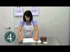 Como forrar una tarta con fondant