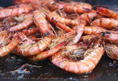 Gambas marinées à la plancha - BBQ Grills Grilling Recipes, Fish Recipes, Seafood Recipes, Mexican Food Recipes, Cooking Recipes, Plancha Grill, Teppanyaki, Batch Cooking, Cooking Chef
