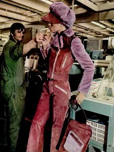 Was anyone not fierce as hell in the 70's?? (This is a picture or a REAL, every day street outfit taken c.a.1972) Love. -P.S.