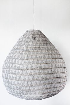 kyris grey drop - need size but its $250 and local and could look good over dining table because i want to soften the room