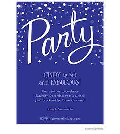 50th Birthday Party Invitations Invites Moms