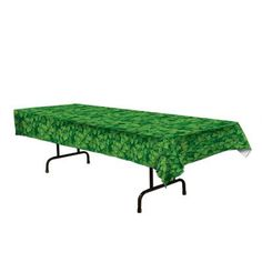 Have a Pot-O-Luck meal with friends with our Shamrock Tablecover! Festive and colorful green leaf prints cover this tablecover! Measures x PEVA. Party Supplies Australia, Irish Celebration, Patio Furniture Covers, Plastic Tablecloth, Rectangle Table, Patio Table, Party Packs, White Vinyl, Table Covers