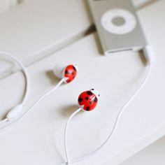 Ladybug Earbug Headphones