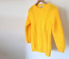 Cableknit Aran Sweater: Helen. Handmade, Winter Collection