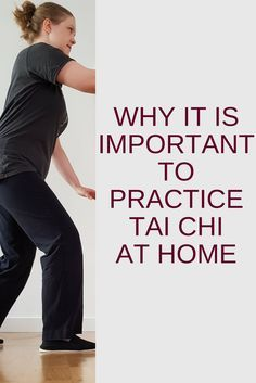 why it is important to practice Tai Chi at home #taichi #taichichuan #taiji #taijiquan #taichiforbeginners