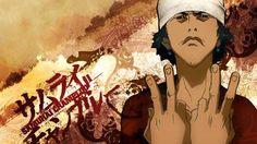 Mugen in Samurai Champloo. Afro Samurai, Samurai Art, Anime Manga, Anime Art, Japanese Mythology, Cat Icon, Hip Hop Art, Princess Zelda, Artwork