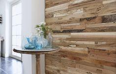 3D houten wandpanelen. http://shop.onthoutons.nl/assortiment/teakwall-3d-wandpanelen-hout