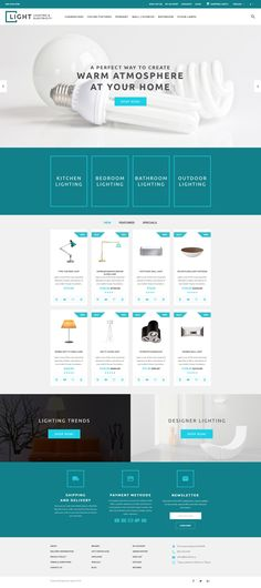 Business cards online store opencart webtemplate themes business opencart theme light wajeb Image collections