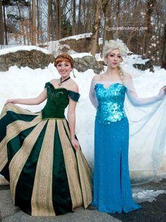 Frozen Queen Elsa & Princess Anna