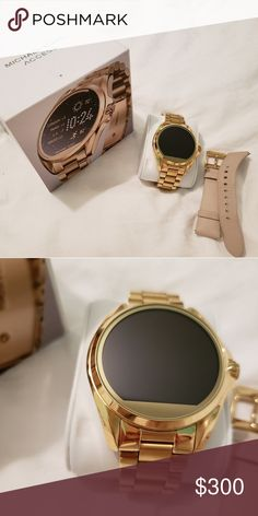 cab0b7daacf2 Smart watch Michael Kors Access watch. Great conditions. Worn 3 times!  Adding a white leather band for no extra cost (worth  50) Michael Kors  Accessories ...