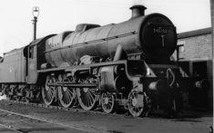 45552 SILVER JUBILEE at Carnforth MPD, 6 June 1962