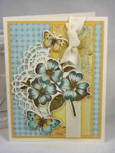 Three Blossoms BTE by BeckyTE - Cards and Paper Crafts at Splitcoaststampers