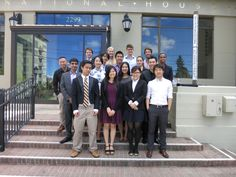 Our Spring 2015 Intercultural Leadership Initiative (ILI) Cohort on the front steps of I-House