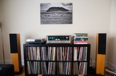 Record Collection (Pics of your listening space - AudioKarma.org Home Audio Stereo Discussion Forums) #vinyl
