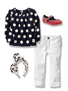 Baby Clothing: Toddler Girl Clothing: Featured Outfits Ready, Set, Outfit | Gap what to wear, 2014