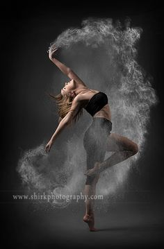 Always trying to create something unique, we used a simple dance pose and added powder to it. Now it is something every dancer would want. Check out our powder brushes at http://shirkphotography.com/for-photographers/products/