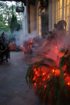 Spooky Outdoor Halloween Lighting | Halloween Inspiration IdeasHalloween Inspiration Ideas