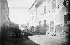 Via Marmorata, assetto prima delle demolizioni Anno: 1883-1888