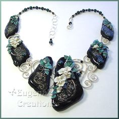 Eugina Topina polymer clay jewelry