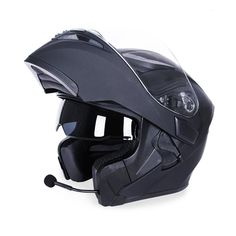 Bluetooth Helmet Waterproof Flip Up DOT Approved