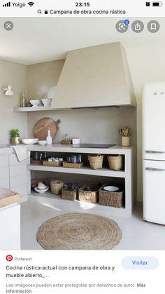 Kitchen Sets, Home Decor Kitchen, Rustic Kitchen, Kitchen Interior, Beach House Kitchens, Home Kitchens, Home Office Design, Home Interior Design, Küchen Design