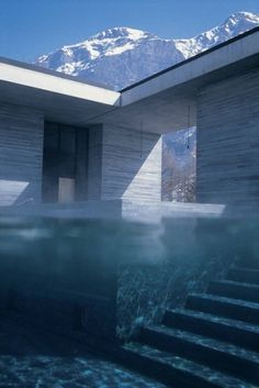 Peter Zumthor: Hotel Therme Vals @Aunt Gigi, loving your boards, thanks for coming into #PinUpLIve tonight!