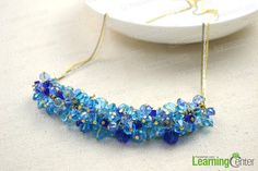 Beaded necklaces design-unite varied glass beads in one charm necklace - Pandahall.com