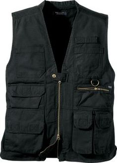 Technically a tactical vest, but functionally an excellent article of clothing for outdoor activities.
