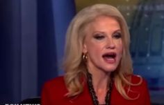 Kellyanne Conway Has An Epic Meltdown And Compares Donald Trump To Jesus
