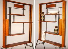 50s Wooden Room Divider.  Repinned by Secret Design Studio, Melbourne.  www.facebook.com/SecretDesignStudio
