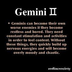 zodiacsociety: Gemini Zodiac Facts