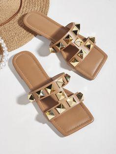 Slide Sandals, Flip Flop Sandals, Flip Flops, Heeled Sandals, Shoes Sandals, Flats, Mango Shoes, Fashion Shoes, Women's Fashion