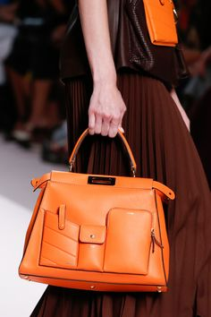 680d0b58adc Fendi Spring 2019 Ready-to-Wear Collection - Vogue Hermes Handbags, Purses  And