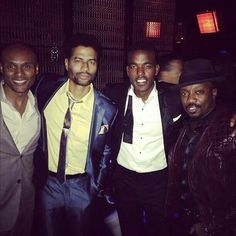 Kenny Lattimore, Eric Benet‬, ‪‎Luke James‬, and ‪‎Anthony Hamilton‬