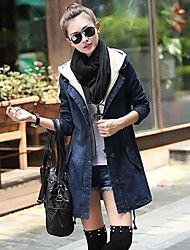 Women's Fashion Sweet Slim Denim Trench Coat Save up to 80% Off at Light in the Box with Coupon and Promo Codes.